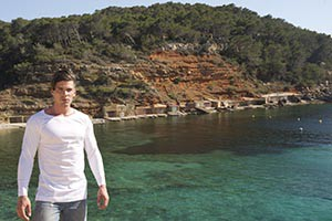 Sa Caleta (Ibiza-tshirt-white-authentic)